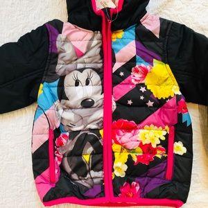 DISNEY Minnie Mouse**Hooded Jacket/ Coat 2T